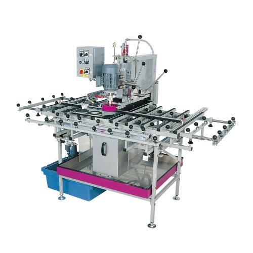 Glas-Bohr- & Sägemaschinen und Tische