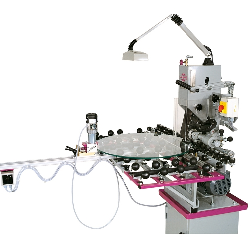 Equipment for machines with roller table