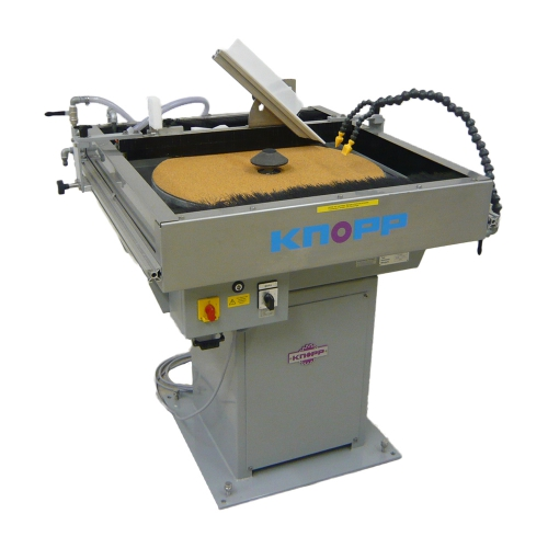 Plate grinding machines